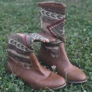 Vegan Southwest Boots